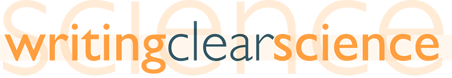 Writing Clear Science - logo