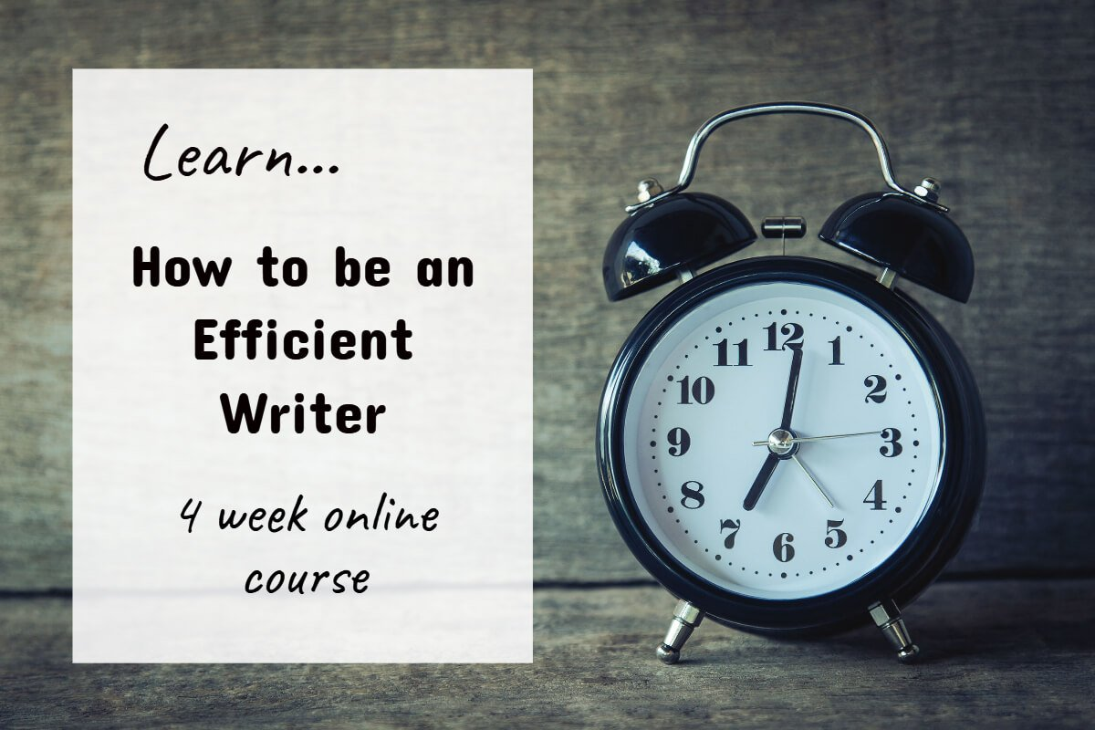 How to be an Efficient Writer
